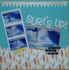 Surfs Up! - Scrapbook.com