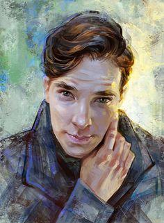 Benedict Cumberbatch by Olga-Tereshenko