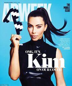 Kim Kardashian sizzles in skintight latex dress for new magazine cover #dailymail