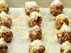 These Protein Bites Taste Just Like a Lemon Cookie | If you're craving something sweet and satisfying that will also help fuel your body, watch this video to learn how to whip up a batch of lemon drop en