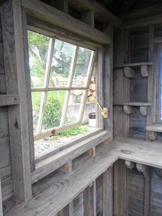 28 Ideas garden shed windows chicken coops Shed Conversion Ideas, Garden Shed Interiors, Tiny House, Rustic Shed, Rustic Barn, Shed Windows, Garden Tool Shed, Garden Sheds, Home And Garden Store