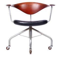 The Swivel Chair by Hans J. Wegner