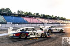 Porsche 935 hot lap. Hockenheim. Meeting the heroes