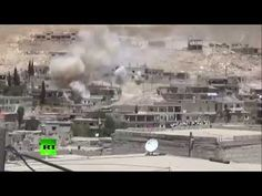 Video: Syrian military release video of heavy fighting with Al-Nusra front near Damascus - http://www.therussophile.org/video-syrian-military-release-video-of-heavy-fighting-with-al-nusra-front-near-damascus.html/