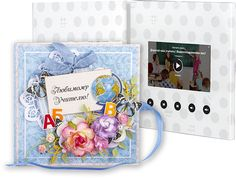 Подарок для учителя - открытка с видеоэкраном