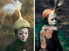 Surma and Mursi body art  Omo Valley, East Africa Photo by Hans Silvester from…