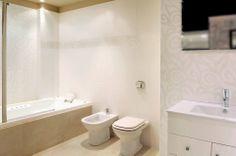 Revestimiento modelo Ombra, producto exclusivo de Barugel Azulay. ¿Tendrías un baño así?  ¿Que te parecen los revestimientos que proponemos?
