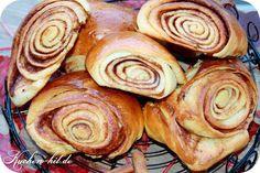 Rezept für Hefebrötchen / Zimtbrötchen aus Finnland. Der Hefeteig bekommt durch den Zimt und die Zugabe von Kardamon ein sehr schöne Note.
