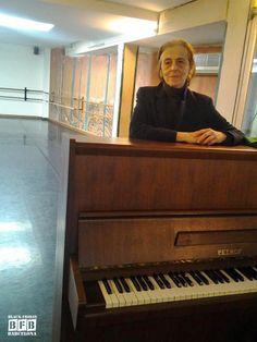Cristina Magnet en la Escola De Dansa Rosita Mauri