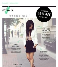 Labelled Outfit- Fashion Email