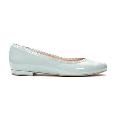 mint patent leather ballerina flats summer 2015 PASO a PASO