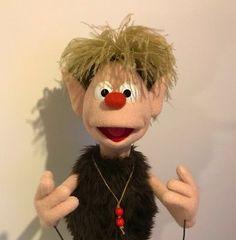 little Garden Elf puppet by Jarrod Boutcher
