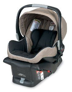 Britax B-safe car seat in Sandstone