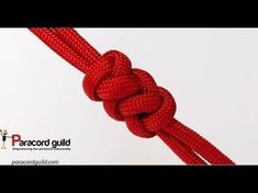 How to Make a Diamond Knot and Loop Closure/Common Whipping Knot Paracord Survival Bracelet - YouTube