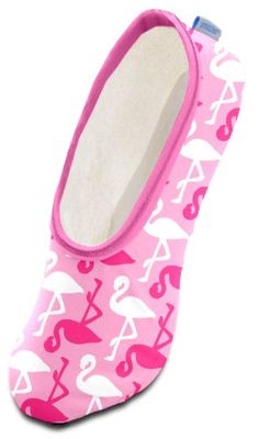 Snoozies Conversationals Women's Lightweight Skinnies Footcovering Slippers (Large, Pink Flamingos) Snoozies http://www.amazon.com/dp/B00IW8OJPE/ref=cm_sw_r_pi_dp_HXn-ub0DWD45S