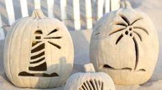 Craved Beach Sand Pumpkins