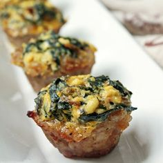I Breathe, I'm Hungry swiss chard and ricotta pie eggs in a nest