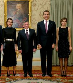Queen Rania and Queen Letizia Might Be the Most Stylish Duo Ever via @WhoWhatWearUK