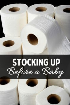 How to stock up for a baby -- the master list of things you should have on hand to make the transition smoother. Brilliant idea!