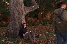 I sat at the base of this tree at Warner Bros Studio in Burbank,CA. Love the Gilmore Girls!