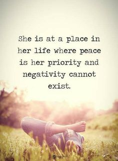 "Inspirational quotes on life : You Live Your Peace Best Life For Her Negativity Positive quotes about life ""She is at a place in her life where peace Life Quotes Love, Inspiring Quotes About Life, Great Quotes, Quotes To Live By, Me Quotes, Motivational Quotes, Inspirational Quotes, Kindness For Weakness Quotes, Wisdom Quotes"