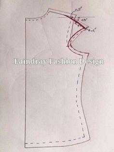 Elegant Photo of Custom Sewing Patterns Dress Sewing Patterns, Blouse Patterns, Clothing Patterns, Sewing Lessons, Sewing Hacks, Sewing Tutorials, Pattern Cutting, Pattern Making, Costura Fashion