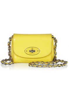 i just cant get enough of mulberry. Mulberry Mini chain-strap shoulder bag