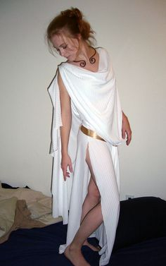 Bed Sheet To Toga
