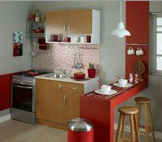 Küçük mutfaklar için yine ideal bir seçim
