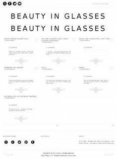 """""""Beauty in Glasses"""" : Szczegóły - Blozu.com"""