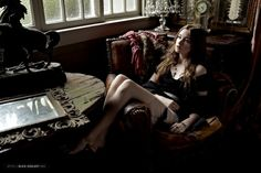 Harper's Bazaar 2011 photoshoot - alice-englert Photo