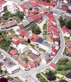 Letecký pohled na ghetto, foto: Jiří Rathouský st.