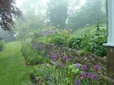 Season of Mist: Ben Pentreath's Dorset Garden : Gardenista