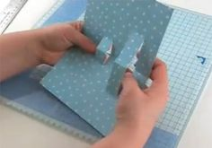 pop up cards video tutorial...