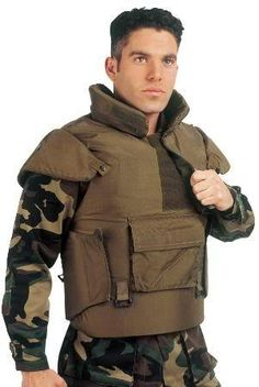 Will this keep me safe from BEARS while camping???? Tactical Armor Neck Shoulders