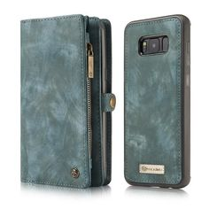 Luxury Case For Samsung Galaxy S8 S7 Case Genuine Leather Flip Cover For Samsung S 8 Plus S 7 Edge Magnetic Wallet Phone Bags
