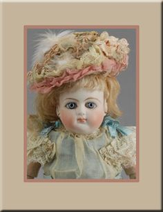 "12"" 3/0 Schmitt $25,000.00)  Carmel Doll Shop -French Bebes-"