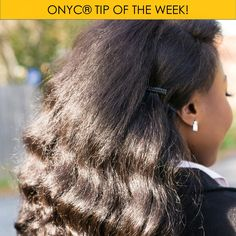 If you're rocking our Fro Out™ hair extensions, we have two tips this week! 1. Always do a hydrating co-wash 1-2 times a week 2. Consider flexi-rods (pictured) or flat-ironing for something full and straight, but sleek. Click to shop!  #hair #hairstyles #hairextensions #wavyhair  