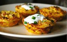 zadanie - gotowanie: Muffiny ziemniaczane.