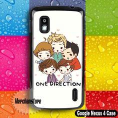 One Direction Google Nexus 4 Case