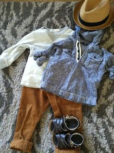 Cute outfit for my little guy (Love those salt water sandals)