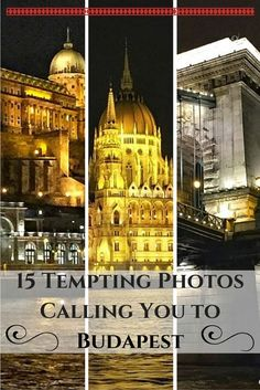 15 Tempting Photos Calling You to Budapest - The Globetrotting Teacher   I missed Budapest on my last trip due to illness. So, another trip to Europe is in my future. Ready to visit Budapest? Email me at Deb@VacationsByDeb.com or call me at 877-331-5078.