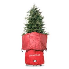 Now when I purchase a Christmas tree, I also purchase an extra large Christmas tree storage bag. Christmas tree storage bags are so inexpensive that it just makes sense to get one that fits your tree and throw out the box that your tree came in. Christmas Tree Storage Bag, Slim Christmas Tree, Holiday Storage, Wreath Storage, Bag Storage, Ornament Storage, White Tree Skirt, Slim Tree, Black And White Tree
