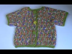 Haken - tutorial: vrolijk baby vestje - YouTube Baby Born, Tutorial, Crochet Baby, How To Make, Kids, Annie, Crocheting, Clothes, Fashion