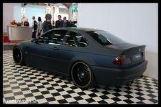 Flat Black BMW e46