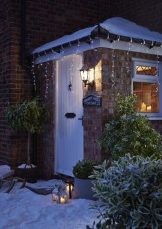 These lights can be used indoors or outdoors so you can put them up wherever you want to have a Christmassy glow around your home or garden Led Icicle Lights, Twinkle Lights, Fluffy Cushions, Scandi Christmas, Glow, Indoor, Outdoors, Garden, Interior