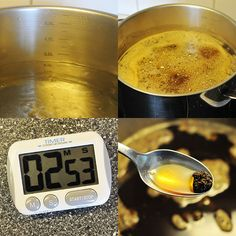 Norwegian egg coffee 2 2-3 min. In 2,5 l boiling water Stir 250ml.  Cold water