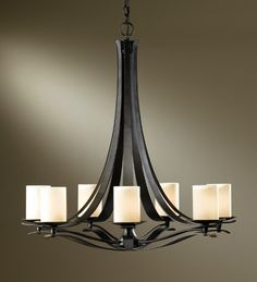 Hubbardton Forge 101283 Berceau 7 Light Chandelier