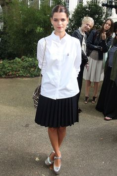 Our Favorite Back-to-School Outfit Ideas from Celebs: Pixie Geldof