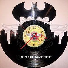 Amazon.com Seller Profile: VINYL PLANET wall clock Batman -put your name here
